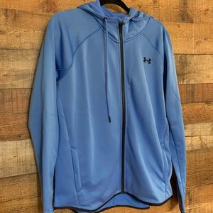 NWT Under Armour blue jacket, size large